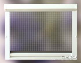Okenní rolovací síť hák