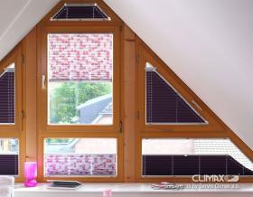 Plisé pro vertikální okna a dveře
