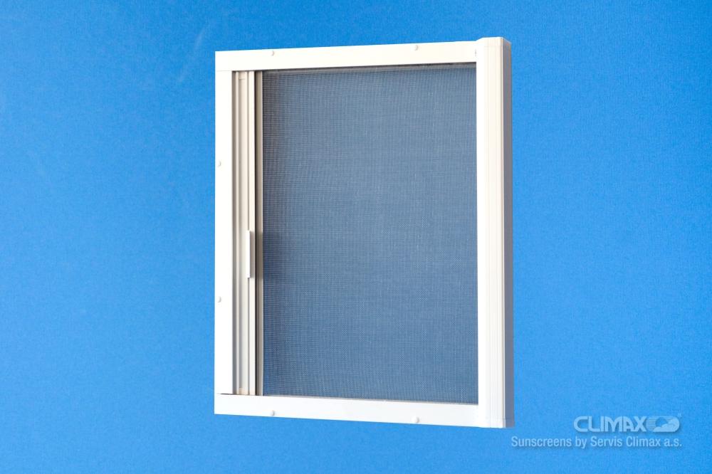 Product door roll up screen magnet servis climax a s for Screen door with roll up screen