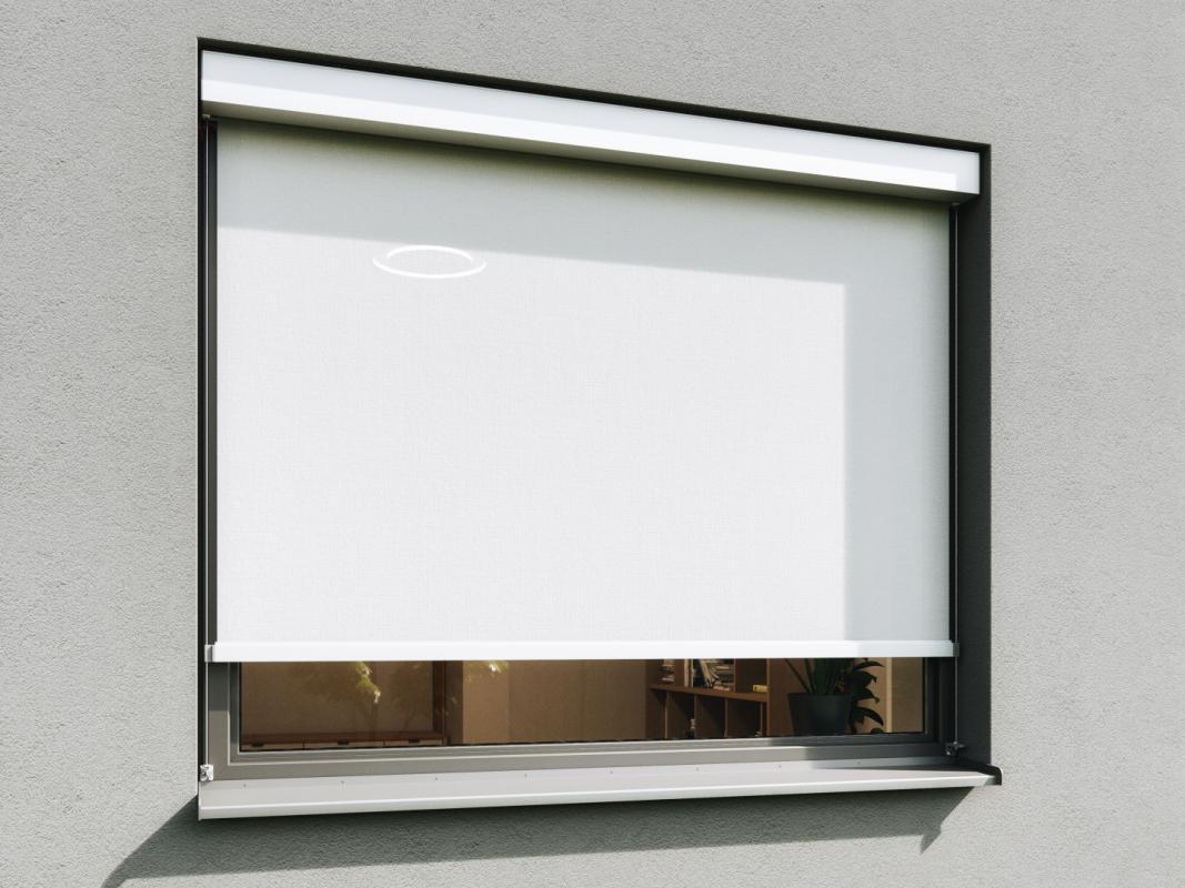 Svislé fasádní clony | Svislé fasádní clony Unirol 100 C