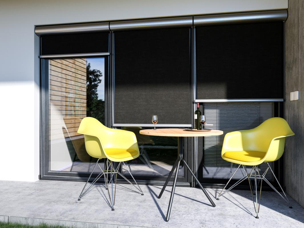 Svislé fasádní clony | Svislé fasádní clony Winrol 85